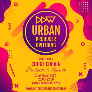Dutch DJ World Urban Producer Opleiding