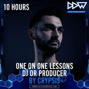10 uren Privéles DJ of Producer van Crypsis