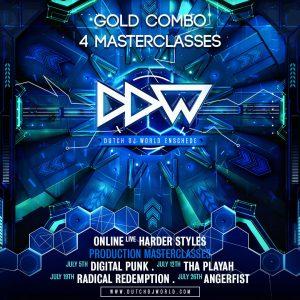 Dutch DJ World Masterclasses Gold Combo