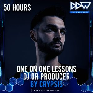 50 uren Privéles DJ of Producer van Crypsis